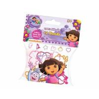Dora Exploradora: Bolsa con 12 pulseras surtidas formas