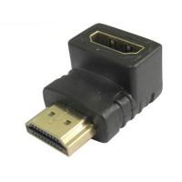 Adaptador 90º HDMI Macho-Hembra
