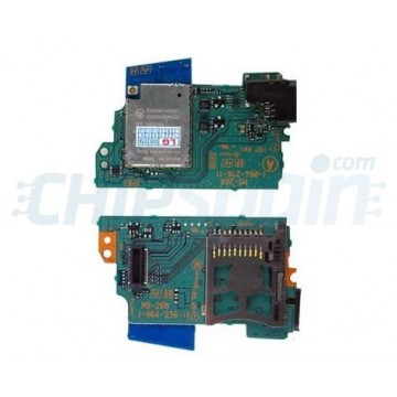PCB card WIFI and Reader MSPD MS-268 PSP 1000