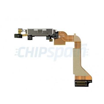Conector Carga y Datos iPhone 4 -Blanco