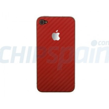 Protective Skin iPhone 4/4s -Red