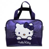 Hello Kitty: Neceser mediano lila