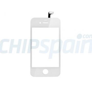 Pantalla Táctil con Marco iPhone 4 - Blanco
