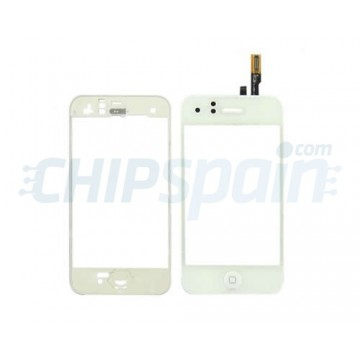 Touch Screen with Frame iPhone 3G -White