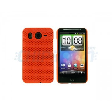 Carcasa Perforated Series HTC Desire HD -Naranja
