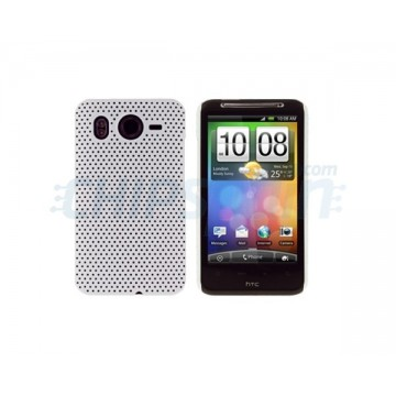 Carcasa Perforated Series HTC Desire HD -Blanco