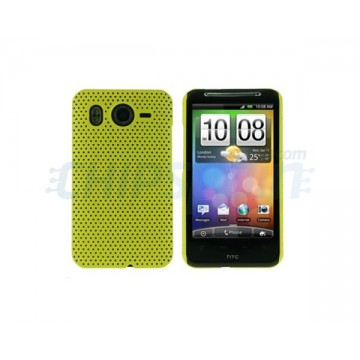 Carcasa Perforated Series HTC Desire HD -Amarelo