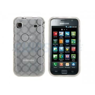 Funda Silicona Bubble Samsung Galaxy S -Blanco