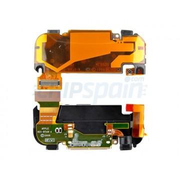 Conector de Carga, Altavoz, Mic. y Antena iPhone 3GS -Negro