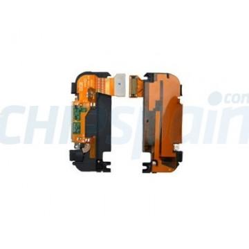 Conector de Carga, Altavoz, Mic. y Antena iPhone 3G -Blanco