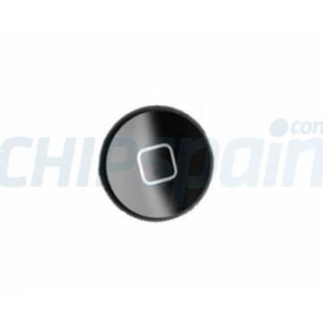Boton Home iPad 2/3/4 -Negro