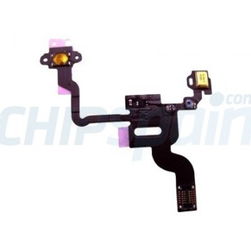 Cable Flexible Encendido y Sensor Proximidad iPhone 4