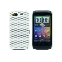 Carcasa Perforated Series HTC Desire S -Blanco