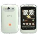 Case Rhombus Series HTC Wildfire S -Transparent