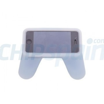 Ergonomic grippers iPhone 4 -White