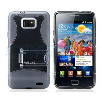Caso Bullet Series Samsung Galaxy S II -Cinzento