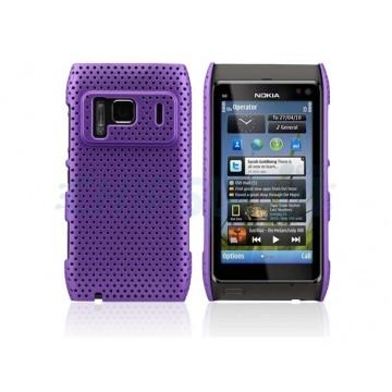 Carcaça Perforated Series Nokia N8 -Roxo