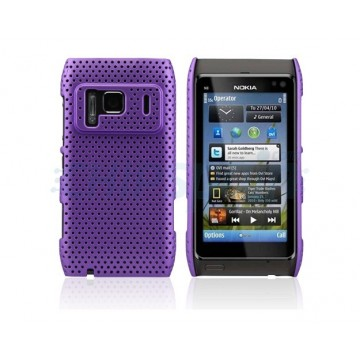 Carcasa Perforated Series Nokia N8 -Morado