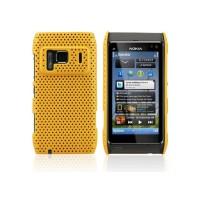 Carcasa Perforated Series Nokia N8 -Amarillo