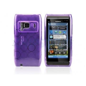 Caso Bubble Series Nokia N8 -Roxo