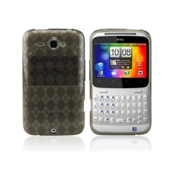 Funda Checker Series HTC ChaChaCha -Gris
