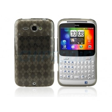 Case Checker Series HTC ChaChaCha -Grey