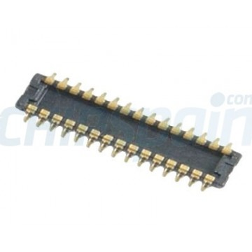 Conector do cabo de exposição LCD iPhone 4