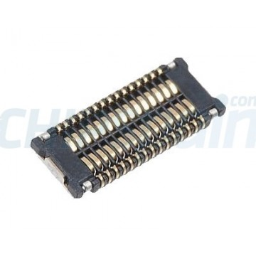 Conector Cable Cristal Digitalizador iPhone 4