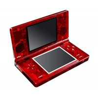 Carcasa Eye Candy Nintendo DSi -Roja Tranparente