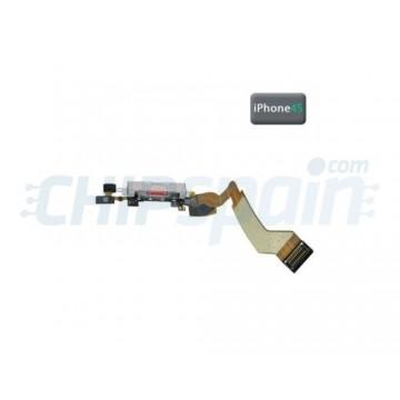 Conector Carga y Datos iPhone 4S -Negro