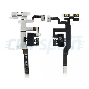 Flexible Audio Cable iPhone 4S -Black