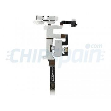 Cable Flexible Audio iPhone 4S -Blanco