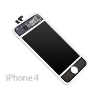 Pantalla Completa iPhone 4 -Blanco/Transparente