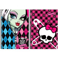 Monster High: Libreta tamaño folio Monster High 100h