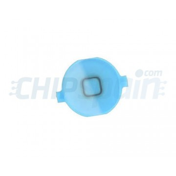 Botão Home iPhone 4 -Azul Claro