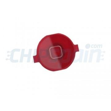 Botón Home iPhone 4 Rojo
