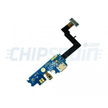 Conector de Carga Micro USB e Microfone Samsung Galaxy SII i9100
