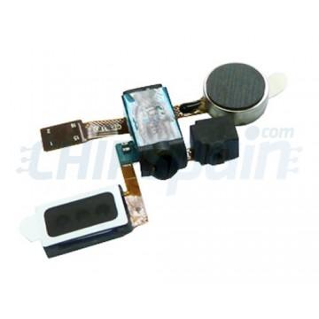 Cable Flex Vibrador/Altavoz/Auriculares/Mic Samsung SII i9100