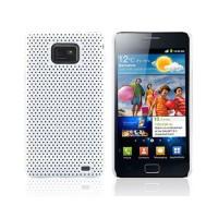 Carcasa Perforated Series Samsung Galaxy SII -Blanco