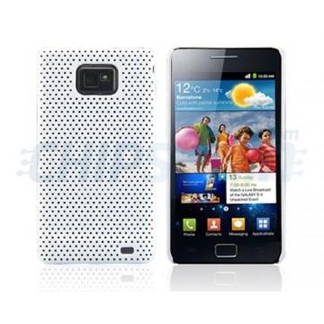 Carcaça Perforated Series Samsung Galaxy SII -Branco