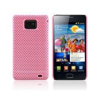 Carcasa Perforated Series Samsung Galaxy SII -Rosa