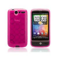 Funda Bubble Series HTC Desire -Rosa