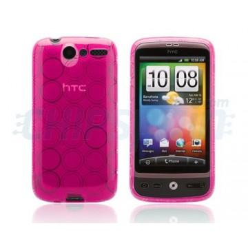 Caso Bubble Series HTC Desire -Rosa