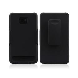 Funda Cracker Series Samsung Galaxy SII -Negro