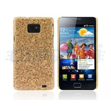 Case Cedar Series Samsung Galaxy SII -Light brown