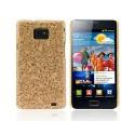 Carcasa Cedar Series Samsung Galaxy SII -Marrón Claro