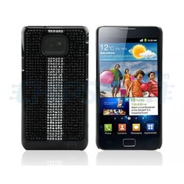 Case Sparkling Series Racing Edition Samsung Galaxy SII -Black