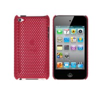 Carcasa Perforated Series iPod Tocuh Gen. 4 -Rojo