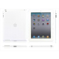 Carcasa Perforated Series iPad 2 -Blanco