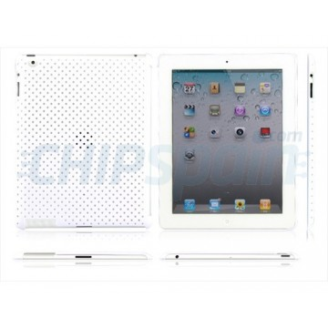 Case Perforated Series iPad 2 -White